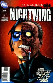 Nightwing #147 R.I.P. (2008) Death Of Batman DC comic book